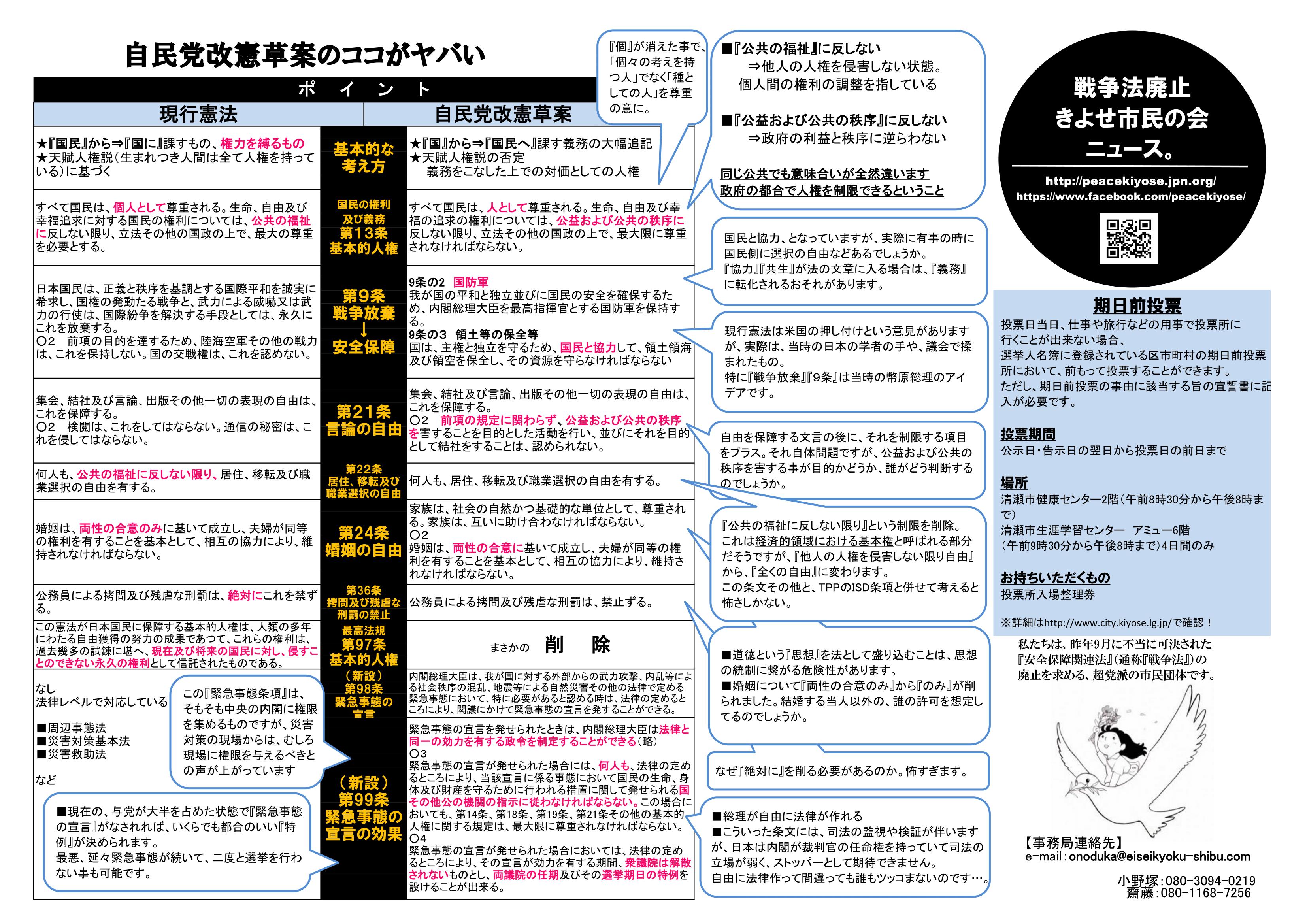 選挙特集 A4両面チラシ0615-2